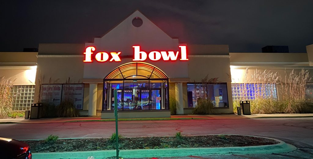 outside of Fox bowl
